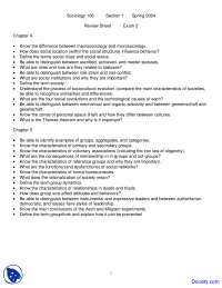 Social Interaction, Social Groups and Global Social Stratification  - Introduction to Sociology - Handouts