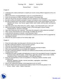 Social Class, Race, Ethnicity and Politics - Introduction to Sociology - Handouts