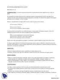 Sistemas de proyección - Prácticas - Ciencias e Ingeniería - Enseñanzas Medias