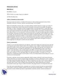 El Racismo - Prácticas - Ciencias Sociales - Enseñanzas Medias
