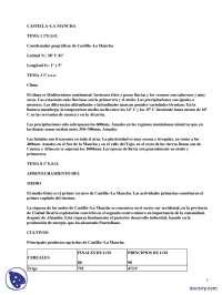 Castilla-La Mancha - Prácticas - Ciencias Sociales - Enseñanzas Medias
