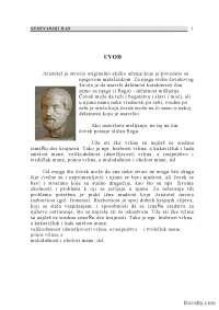 Aristotel-Seminarski rad-Filozofija