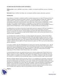 Investigación científica, Tabaquismo - Prácticas - Ciencias Sociales - Enseñanzas Medias
