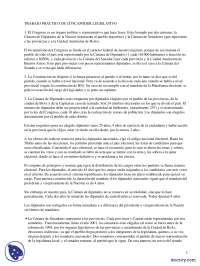 Poder Legislativo - Prácticas - Ciencias Sociales - Enseñanzas Medias