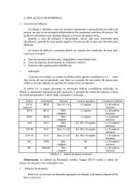 Inflação e Desemprego, Notas de estudo de Engenharia Informática