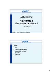 Struct (Registro), Notas de estudo de Engenharia Informática