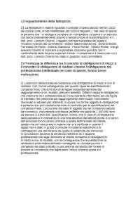 Esercitazione  di istituzioni di diritto privato