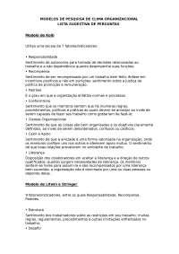 Modelos de Pesquisa de Clima, Manuais, Projetos, Pesquisas de Engenharia Informática