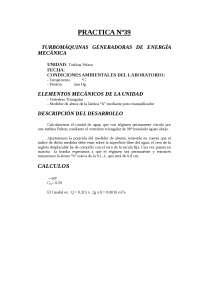 Turbomáquinas consumidoras de energía mecánica IV, Prácticas - Mecánica - Enseñanzas Medias