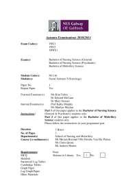 Epidemiological Transition - Social Sciences - Past Exam