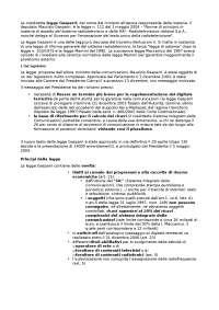 La legge gasparri - Appunti di Diritto Dell'Informazione E Della Comunicazione