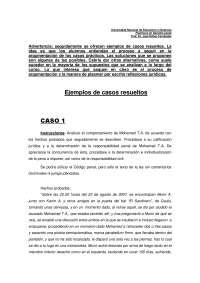 Casos practicos derecho penal resueltos, Ejercicios de Derecho Penal
