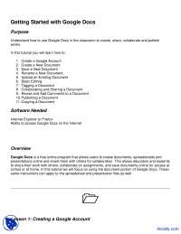 Google Docs - Electrical Learning - Lecture Notes