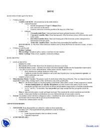 Classification of Bone -  Medical Science - Lecture Notes