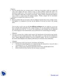 Molar Absorptivity of Compound - Instrumental Analytical Chemistry - Quiz