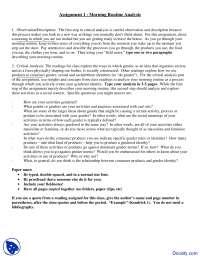 Morning Routine Analysis - Women Studies - Assingment