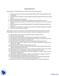 Affluent Society,Factors - History of United States - Assignment