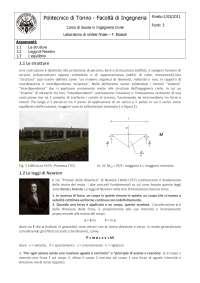 Strutture e Newton - Schemi di tecnica delle costruzioni