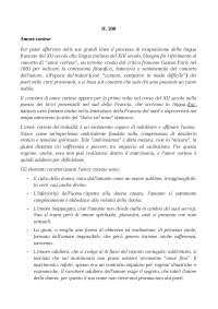 I periodi storici nella letteratura italiana - Schema - Letteratura italiana