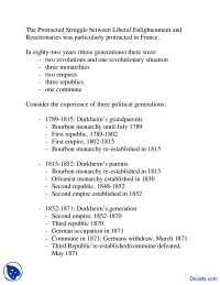 Protracted Struggle - Principles of Sociology - Quiz