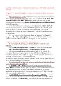 Riassunti esame Procedura Penale (testo consigliato: Gaito - Spangher - Dean - Garuti - Mazza)