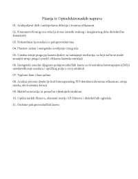 00. Pitanja iz Optoelektronaskih naprava - Sadrzaj