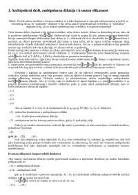 01. Ambipolarni drift, ambipolarna difuzija i kvantna efikasnost