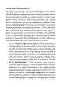 Lex mercatoria e diritto commerciale - Appunti - Diritto commerciale