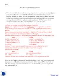 Plant Nutrient Acquisition - Plant Physiology - Solved Quiz