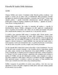 filosofia e analisi delle istituzioni