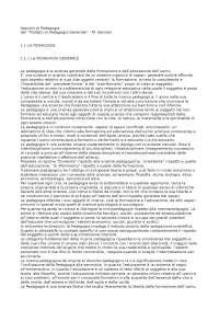 Trattato di pedagogia generale