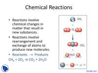 Chemical Reactions - Introductory Chemistry - Lecture Slides