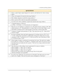 Material and Energy Balance - Bureau of Energy Efficiency - Quiz