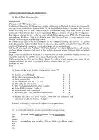 Modalverben - Appunti sui verbi modali tedeschi - Lingua Tedesca