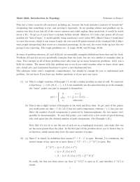 Intention - Introduction to Topology - Solved Exam