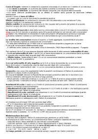 Modelli economici - Microeconomia - 2012 - 2013 - Teoria - Appunti