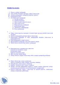 Znanost o odgoju i pedagogija-Skripta-Uvod u pedagoiju-Pedagogija