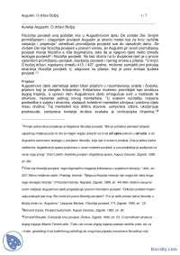 Augustinova drzava-Beleska-Uvod u filozofiju i kriticko misljenje-Filozofija