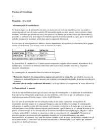 Práctica de metodología y bioquímica estructural, Estructura de Macromoléculas - Bioquímica
