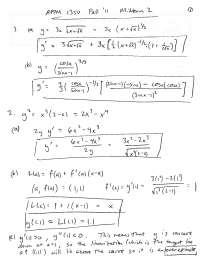 Mean Value Theorem - Calculus One for Engineers - Solved Exam