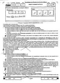 Contratos - prova - Direito Administrativo