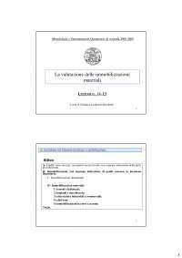 Immobilizzazioni Materiali - Sldes - Stocchetti - analisi di bilancio e principi contabili