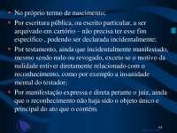 Familia - slides - Direito Civil parte 4