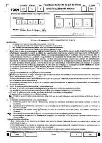 Licitações - prova - Direito administrativo