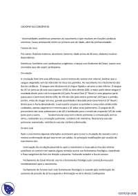 Cardiopatia Congênitas - Resumo - Enfermagem