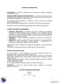 Geografia ekonomiczna - Notatki - Geografia - Część 1