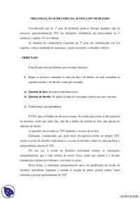 Competencia - notas - Direito do Trabalho