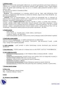 Znak - Notatki - Językoznawstwo ogólne