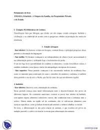 Engels - resumo de livro - Historia