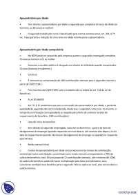 Aposentadorias - notas - Direito Previdenciario